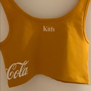 Kit and Coca Cola collaboration tank top.
